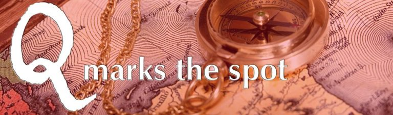 Q marks the spot – Treasure Map 32 (May 2011)
