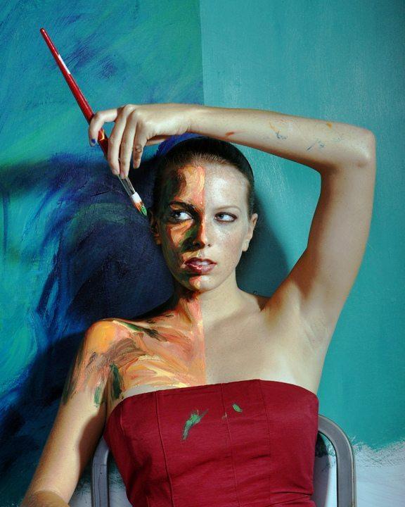 The startling revelations of Alexa Meade's art