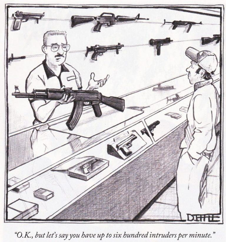 Friday Fun 13: Beware men with Guns and Megaphones