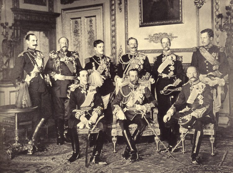 Monarchy's last hurrah? Edward VII's funeral in 1910