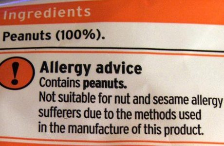 MAY CONTAIN NUTS: Food labelling = GOOD; People labelling = NOT SO