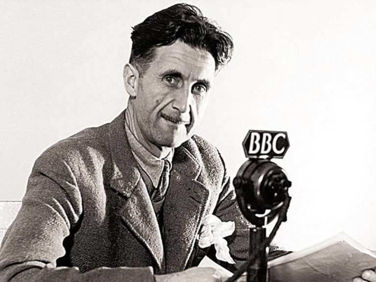 Let the meaning choose the word: Orwell on political language