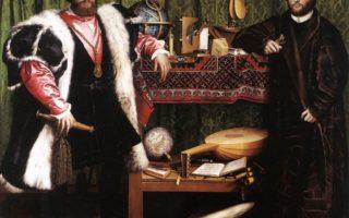 Holbein's THE AMBASSADORS: unlocking hidden mysteries