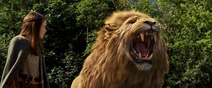 Narnia - Aslan roars