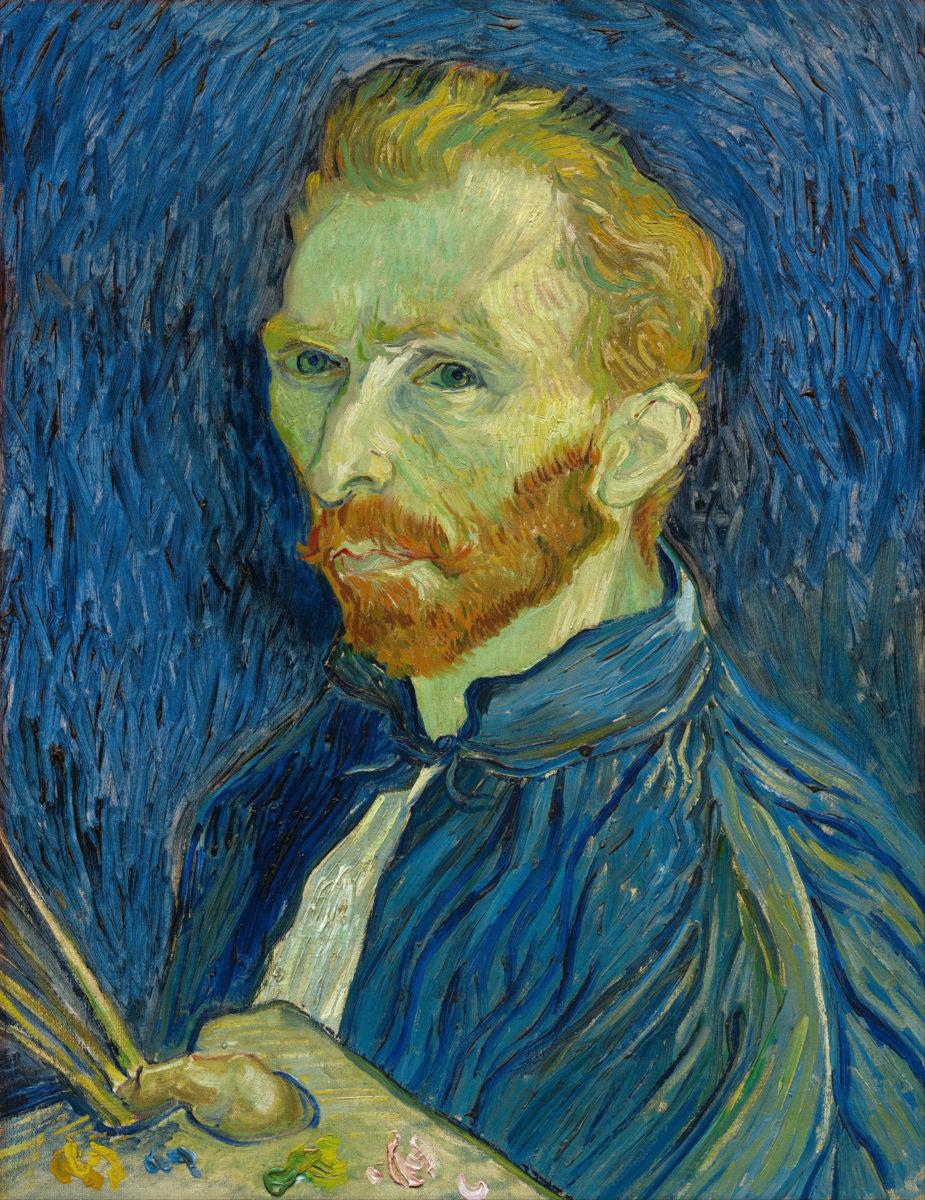 van Gogh - Self Portrait 1889