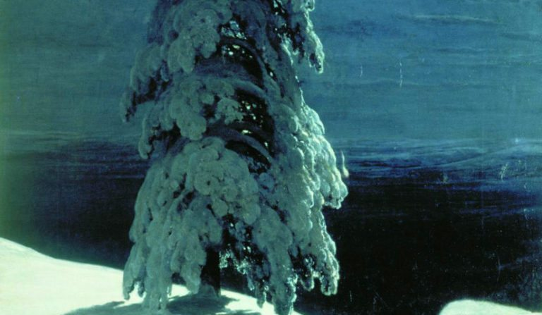 Q Combinations 18: Shishkin's Wild North and Rossetti's Christmas Eve